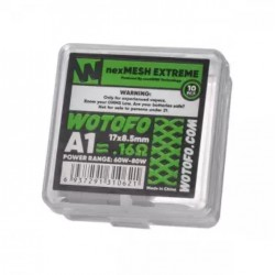 Résistances NexMesh Chill A1 0.15Ω (10pcs) – Wotofo