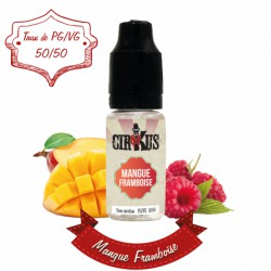 Mangue Framboise - 10ml - 50/50